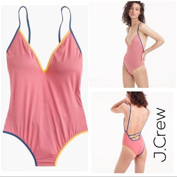 e4e4a8b3a68 ... cross-back one-piece swimsuit. NWT. J. Crew.  M 5bf61ad104e33d23deb5cac5. M 5bf61ad32e147803311e192f.  M 5bf61ad45c4452af7a2623ed